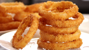 Delicious Snack Recipes, How to Make Savory and Crispy Home-style Union Rings